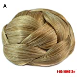 EOWEO Pretty Woman Girl Ponytail Holder Hairpiece Wig Hair Ring Bun