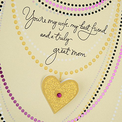 Hallmark Mother's Day Greeting Card for Wife (With All My Heart) Photo #6