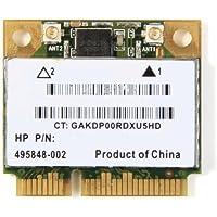 Atheros AR9280 AR5BHB92 Half Size Wireless WLAN Wireless PCI-E Wifi Card 802.11a/b/g/n AzureWave AW-NE733H