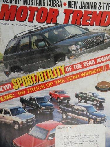 1999 Audi TT Coupe Quattro / 2000 Jaguar S Type / 1999 Ford Mustang SVT Cobra / 1999 Lexus RX 300 / 1999 Chevy Chevrolet Silverado / 1999 BMW M Coupe Magazine Article