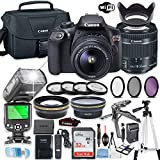 Canon EOS Rebel T6 DSLR Camera Bundle with Canon EF-S 18-55mm is II