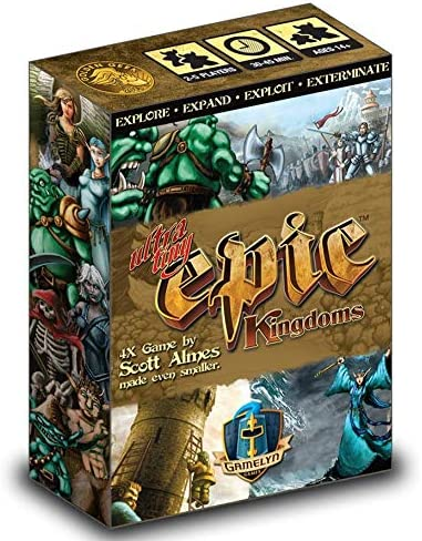 Gamelyn Games Ultimate Tiny Epic Kingdom Board Game Board Games Amazon Canada