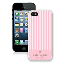 Personalized Popular Design iPhone 5 5S Case Kate Spade New York Phone Case For iPhone 5 5S Plastic Cover Case 126 White