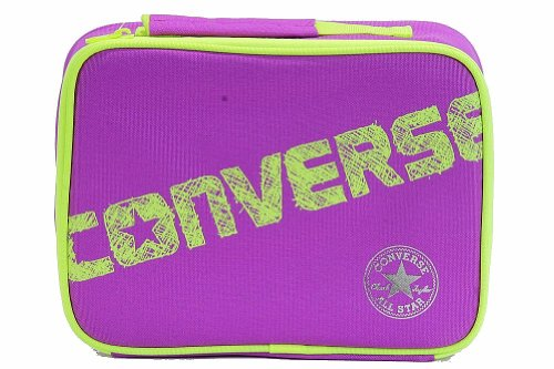 Converse Girl's 4A5127 Insulated Lunch Bag (Purple (Girls Converse Bag)
