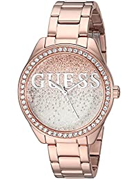 GUESS Women's Quartz Stainless Steel Casual Watch, Color:Rose Gold-Toned (Model: U0987L3)
