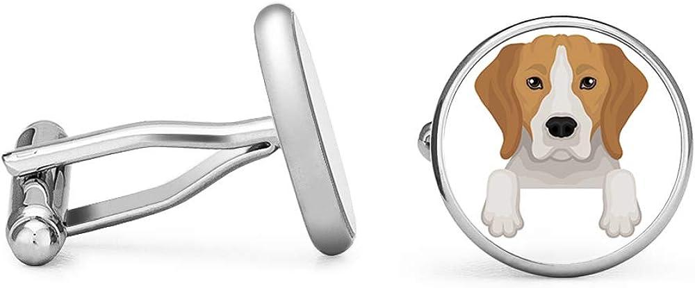 Oakmont Cufflinks Dachshund Cufflinks Wiener Dog Cuff Links Angled Edition