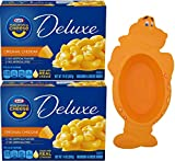 kraft cheese and macaroni - Kraft Macaroni and Cheese Deluxe, 2-14 Ounce Boxes - with Limited Edition Kraft Jurassic Dino Bowl