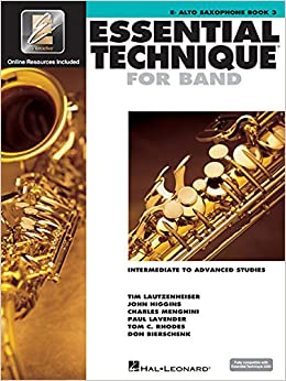 Essential Technique 2000: Eb Alto Saxophone Book 3