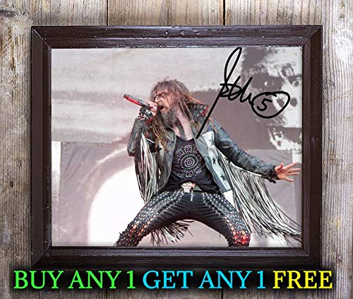 Rob Zombie Halloween Autographed Signed 8x10 Photo Reprint #60 Special Unique Gifts Ideas Him Her Best Friends Birthday Christmas Xmas Valentines Anniversary Fathers Mothers -
