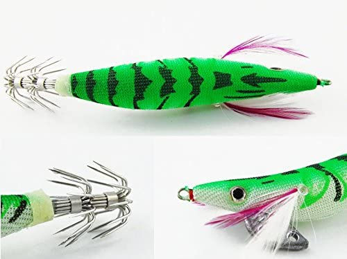con forma de langostino de la marca Jshanmei Se/ñuelos con anzuelo para pesca
