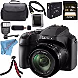 Cheap Panasonic Lumix DC-FZ80 DC-FZ80K Digital Camera + Rechargable Li-Ion Battery + Sony 32GB SDHC Card + Carrying Case + Tripod + HDMI Cable + Memory Card Wallet + Card Reader + Fibercloth + Flash Bundle
