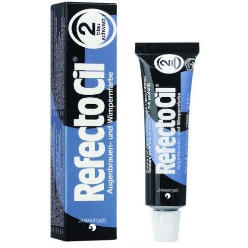 Refectocil Blue/ Black 2 Eyelash and Eyebrow Tint 15ml