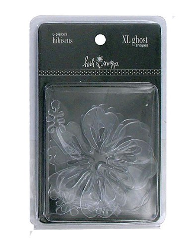 - XL Ghost Shapes Hibiscus Case Pack 54