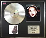 SADE/PLATINUM RECORD AND PHOTO DISPLAY LTD EDITION/LOVE DELUXE