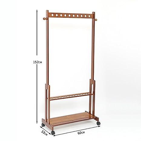 Amazon.com: CHAOYANG Coat rack Hangers Floor-standing ...