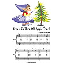 Here's to Thee Old Apple Tree Easy Piano Sheet Music Junior Edition