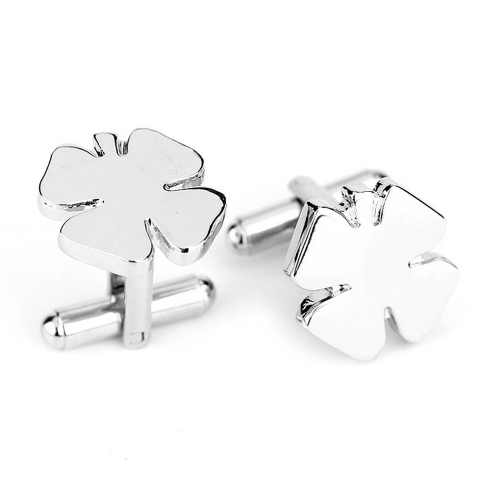Yonger Fashion Cufflinks Classic Shamrock Shirt Cuff Button Men Business Wedding