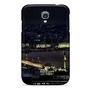 Fashion Tpu Case For Galaxy S4- Estambuldesde La Torre Galata Defender Case Cover