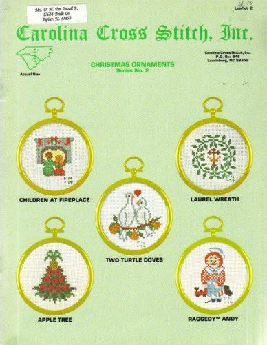 Christmas Ornaments Series No. 2 (Carolina Cross Stitch, Inc., Leaflet 2)