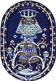 Iittala Taika Platter Blue 16'' X 11''