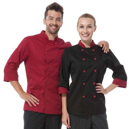 Long Sleeve Unisex Chef Coat Uniform