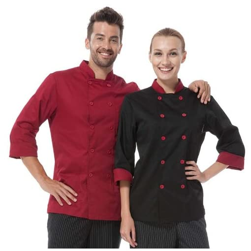 Long Sleeve Unisex Chef Coat Uniform