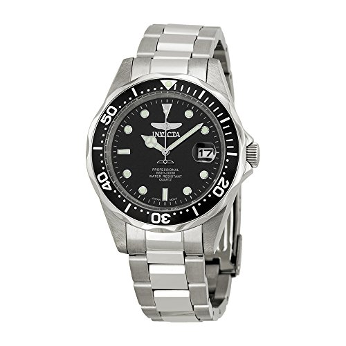 Invicta Men's 8932 Pro Diver Collection Silver Tone Watch (Large Image)
