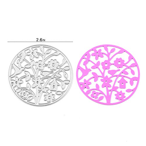 [Enipate Flower Cutting Dies Carbon Steel Stencil Metal DIY Template] (Baby Fish Costume Diy)