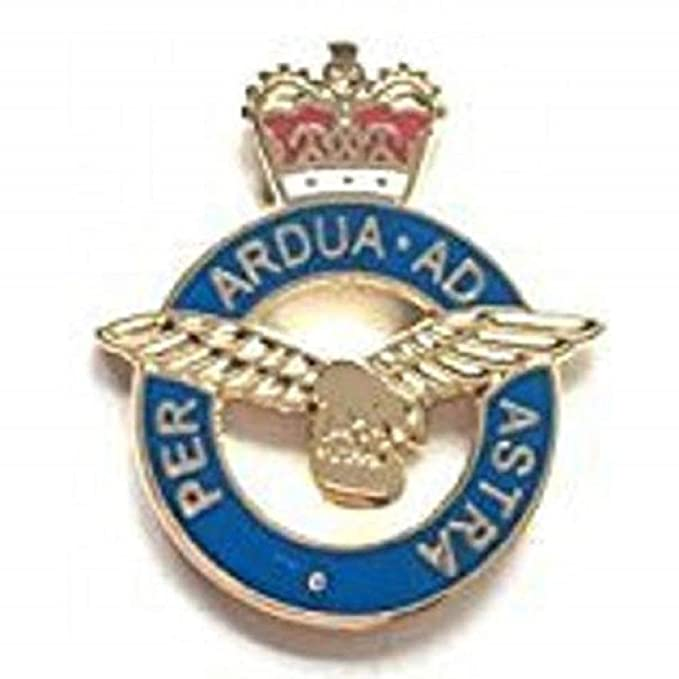 Royal Air Force Station Buchan ® Lapel Pin Badge Gift RAF