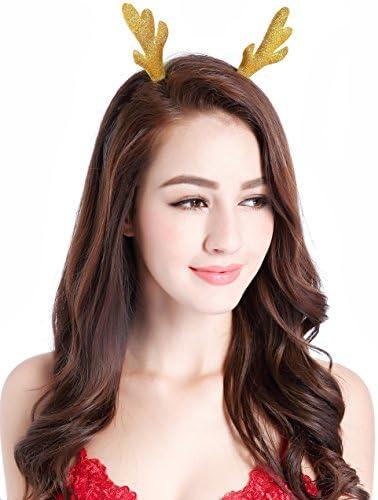 Christmas Headband Antlers Costume Reindeer product image