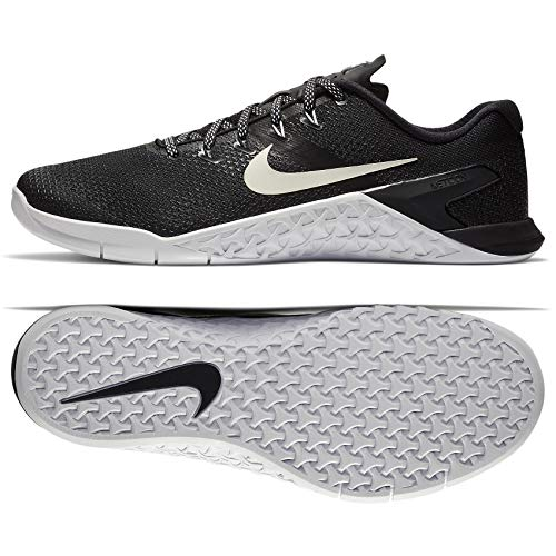 Nike Men's Metcon 4 Black/White Ankle-High Cross Trainer Shoe - 11M