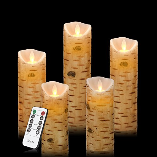 Vinkor Flameless Candles Flickering Battery Operated Candles 4