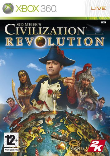 Sid Meier's Civilization Revolution - Xbox 360 (Greatest Hits) (Best Tube Map App)