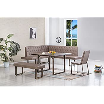 breakfast nook furniture set. James Corner Breakfast Nook Dining Set Furniture