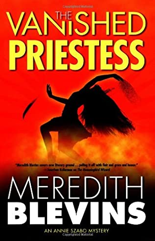 book cover of The Vanished Priestess