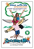 Kids Yoga DVDs - Scooter & Me Heart Series (Set of 3) for Calm, Caring & Confidence