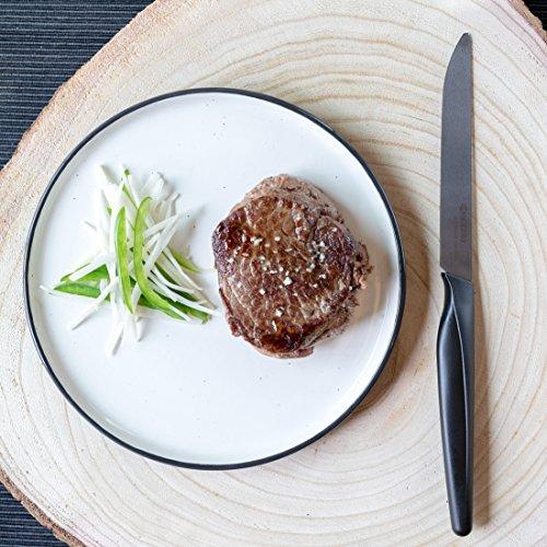 Kyocera SK-4PC Advanced Ceramic Steak Knife Set, One Size, Black/Black by Kyocera (Image #4)