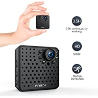 FREDI Wifi Mini Wireless Small 1080p HD Portable Camera with Night Vision,Motion Detection for iPhone/Android Phone/ iPad Remote View(support 128G SD card)