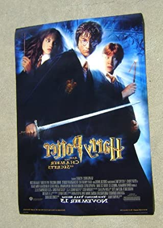 Harry Potter And The Chamber Of Secrets Ds 1 Sheet Theatrical