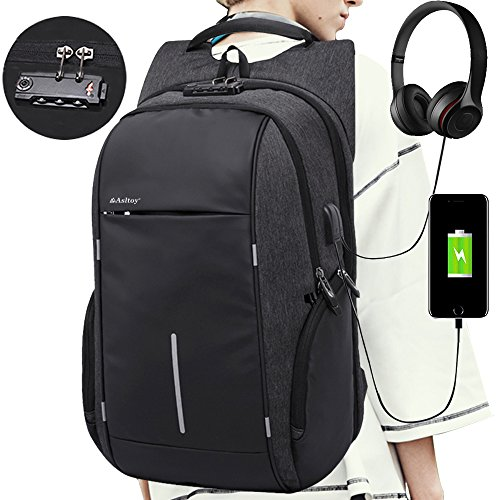 Laptop Backpack Rucksack Asltoy 17.3 inch Notebook Business
