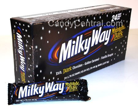 Milky Way Midnight Dark (24 Ct) (Way Candy Bar Milky)