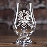 Glencairn Scotch Whisky Glass Engraved, Set of 6