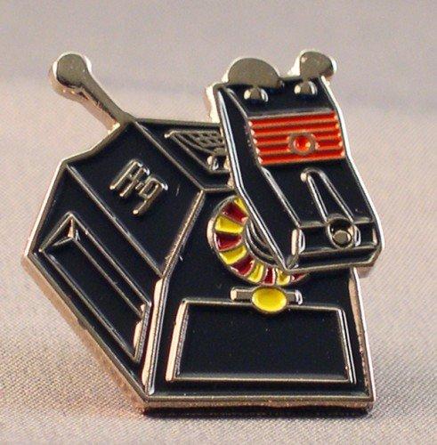 Metal Enamel Pin Badge Time Lord Tardis Blue Police Box