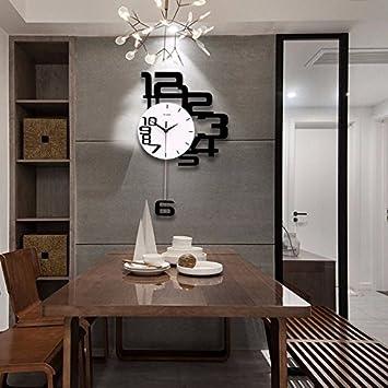 Wall Clock Werlm Persönlichkeit Design Home Decor Uhr Quarz Wanduhr