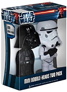 Funko - Bobble Head Star Wars Darth Vader & Stormtrooper mini 7 cm - 0830395026800