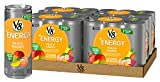mango peach juice - V8 +Energy, Juice Drink with Green Tea, Peach Mango, 8 oz. Can (4 Packs of 6, Total of 24)