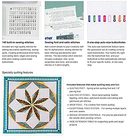 Amazon.com: Brother XR3340 Advanced Computerized LCD Sewing and Quilting Machine: Everything Else