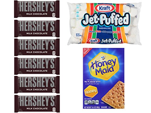 Smores Kit Hersheys Chocolate Marshmallows