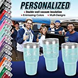 Personalized Tumblers with Lids and Straws, Your