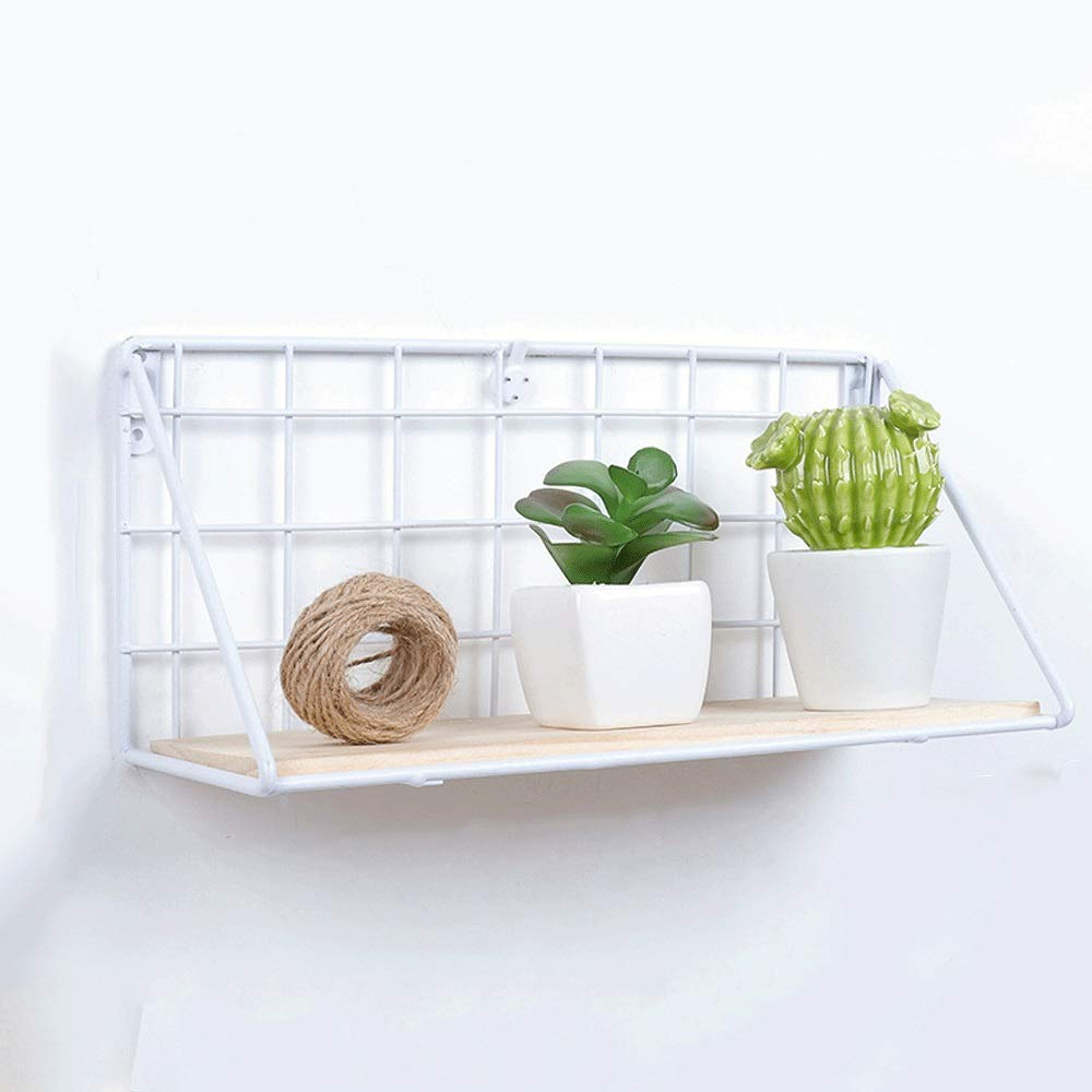 YUNHAO Racks Two-piece Set Modern Minimalist Wall Hanging Wall Hanging Wrought Iron Hanging Racks American Country Solid Wood Creative Home Wall Hanging Wall Decoration Wall Decorations Background Wal